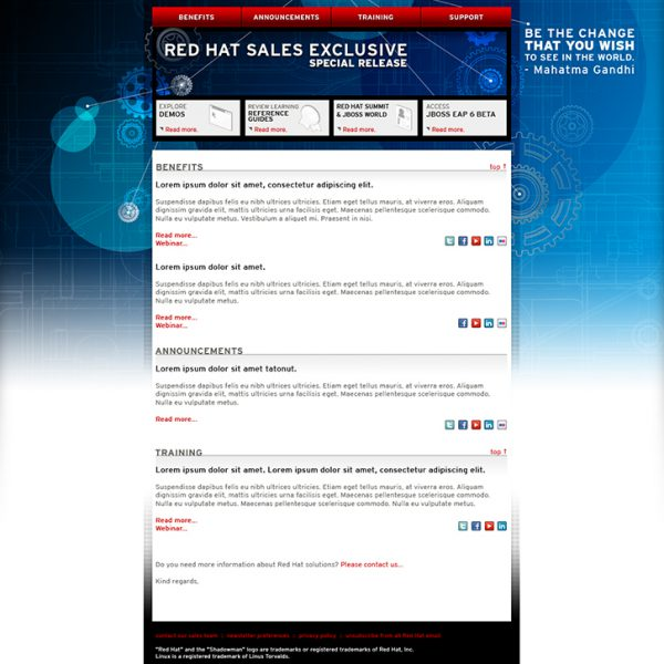 Red Hat Newsletter