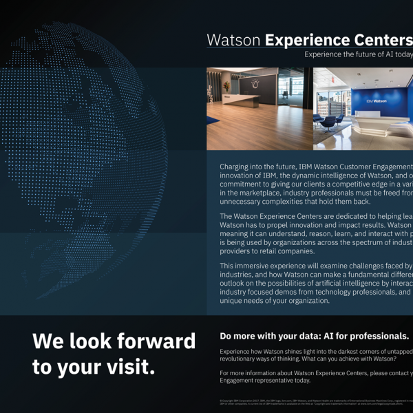 IBM Watson Customer Engagement WEC Client Invite