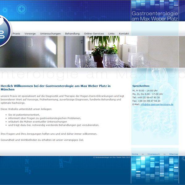 Die Gastroenterologie Website