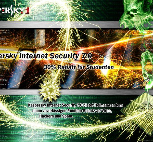 Kaspersky Landing Page