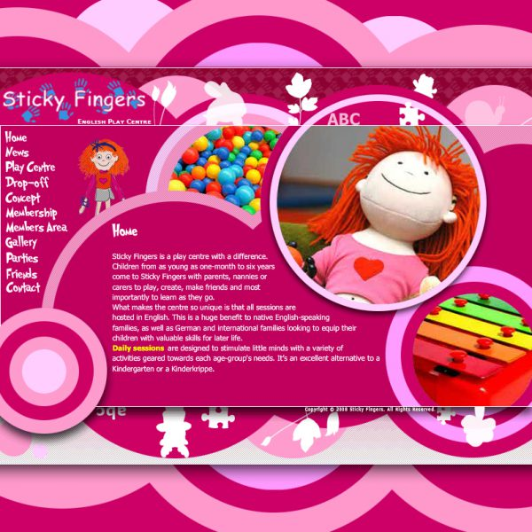 Sticky Fingers Website