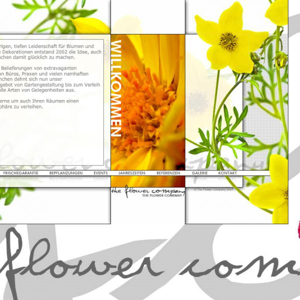 The Flower Company Website